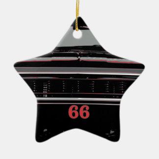 Ornement Étoile En Céramique Chevelle 1966