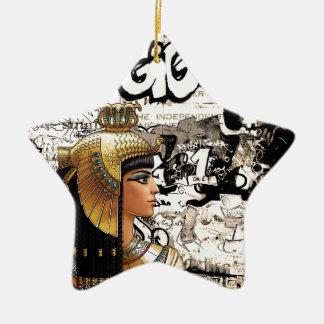 Ornement Étoile En Céramique Cléopâtre