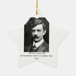Ornement Étoile En Céramique Colline 1906 d'Alfred Francis