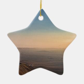 Ornement Étoile En Céramique Cratère de Mizpe Ramon, Israël