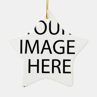 Ornement Étoile En Céramique Créez vos propres conception-apprécient : -)