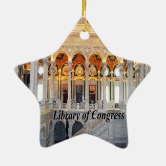 Ornement Étoile En Céramique DC de Washington