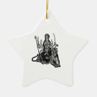 Ornement Étoile En Céramique Déesse de Shiva