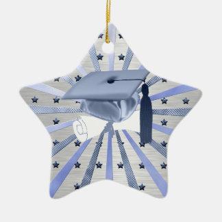 Ornement Étoile En Céramique Diplôme de casquette d'obtention du diplôme de