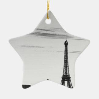 Ornement Étoile En Céramique Eiffel Tower, France