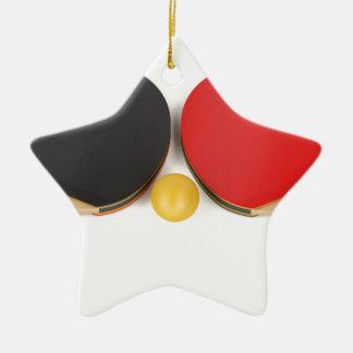 Ornement Étoile En Céramique Équipement de ping-pong