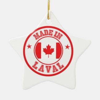 Ornement Étoile En Céramique Fait dans Laval
