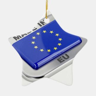 Ornement Étoile En Céramique Fait dans l'Union européenne