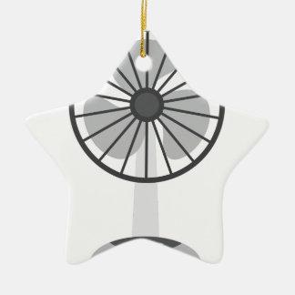 Ornement Étoile En Céramique Fan de bureau