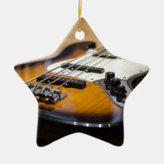 Ornement Étoile En Céramique Ficelles basses basses d'instrument de la guitare