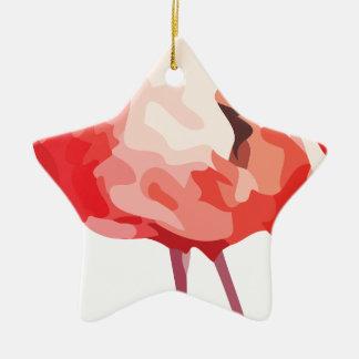 Ornement Étoile En Céramique Flamingo_1