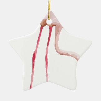 Ornement Étoile En Céramique Flamingo_2