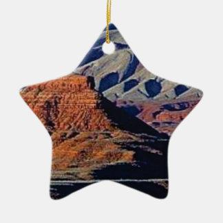 Ornement Étoile En Céramique formes naturelles du désert