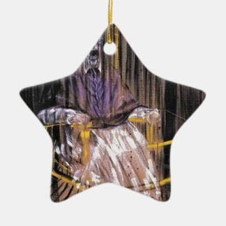 Ornement Étoile En Céramique Francis Bacon - papes criards