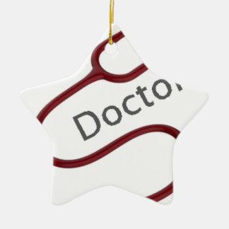 Ornement Étoile En Céramique Futur docteur le Dr.
