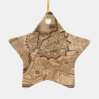 Ornement Étoile En Céramique Genève Suisse 1773