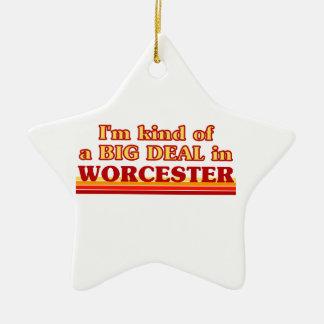 Ornement Étoile En Céramique Genre d'I´m d'affaire à Worcester