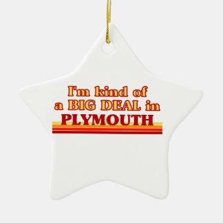 Ornement Étoile En Céramique Genre d'I´m d'affaire dans Plymouth