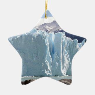 Ornement Étoile En Céramique Glacier de Perito Moreno, Argentine 2