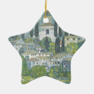 Ornement Étoile En Céramique Gustav Klimt - église dans l'oeuvre d'art de