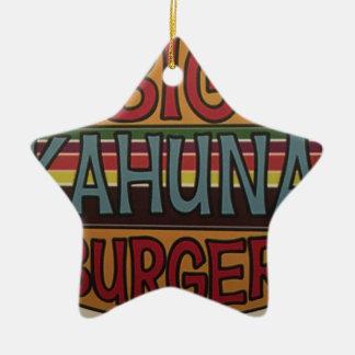 Ornement Étoile En Céramique Hamburger de Kahuna