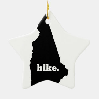 Ornement Étoile En Céramique Hausse New Hampshire