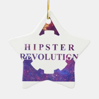 Ornement Étoile En Céramique Hipster Revolution Gear