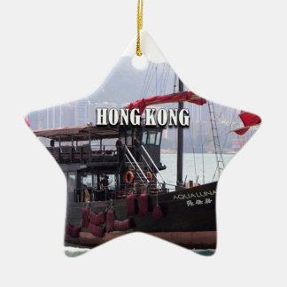 Ornement Étoile En Céramique Hong Kong : Ordure chinoise