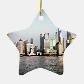Ornement Étoile En Céramique Horizon de Changhaï Chine