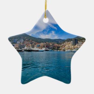 Ornement Étoile En Céramique Horizon du Monaco