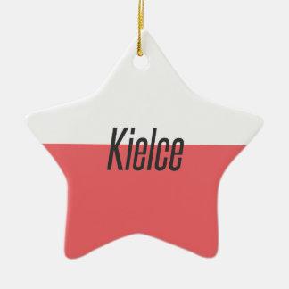 Ornement Étoile En Céramique Kielce