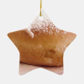 Ornement Étoile En Céramique Krapfen simple (beignet italien)