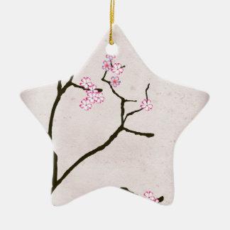 Ornement Étoile En Céramique la fleur antique 1 des fernandes élégants
