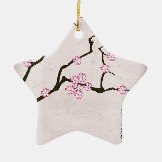 Ornement Étoile En Céramique la fleur antique 4 des fernandes élégants