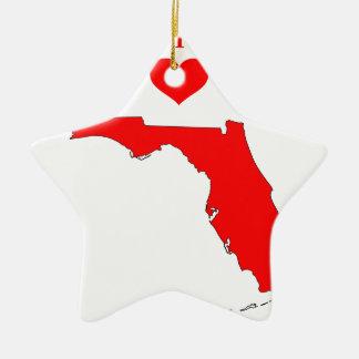 Ornement Étoile En Céramique La Floride