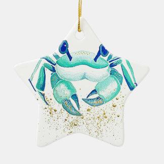 Ornement Étoile En Céramique Le crabe de Neptune