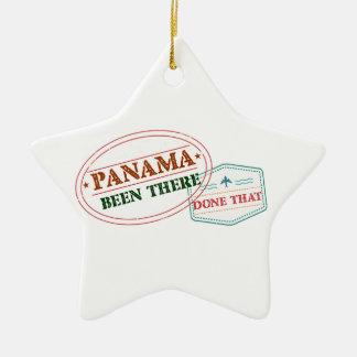 Ornement Étoile En Céramique Le Panama là fait cela