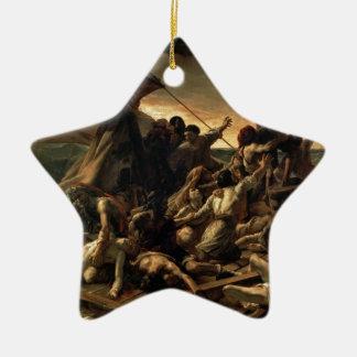 Ornement Étoile En Céramique Le radeau de la méduse - Géricault
