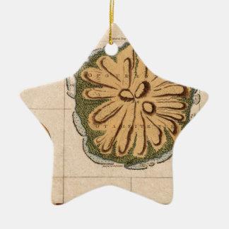 Ornement Étoile En Céramique Le Tahiti 1769