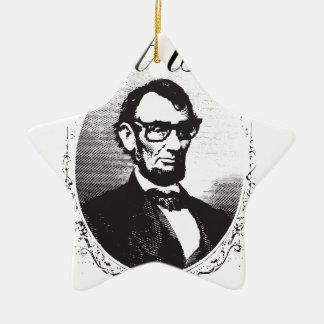 Ornement Étoile En Céramique Lincoln qui est ainsi quatre-vingt et il y a de