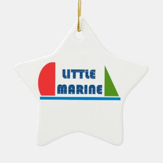 Ornement Étoile En Céramique little marine
