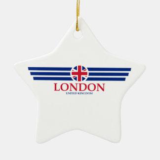 Ornement Étoile En Céramique Londres