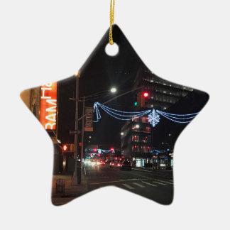 Ornement Étoile En Céramique Lumières de vacances de photographie de Brooklyn,