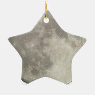 Ornement Étoile En Céramique Lune 201711i