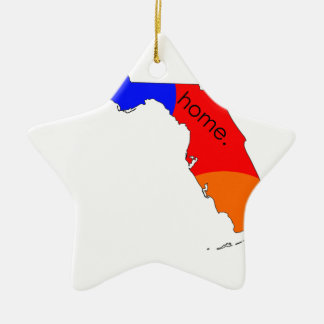 Ornement Étoile En Céramique Maison de la Floride