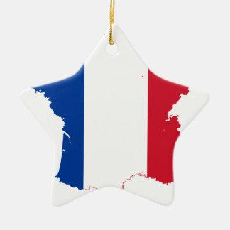 Ornement Étoile En Céramique map-of-france-1290790