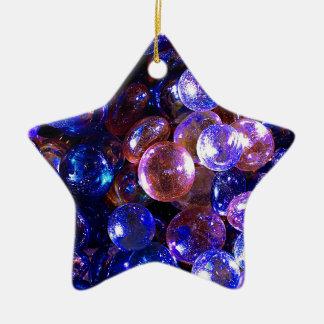 Ornement Étoile En Céramique Marbres