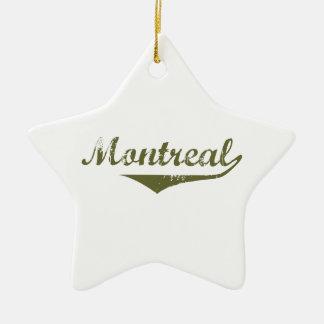 Ornement Étoile En Céramique Montréal