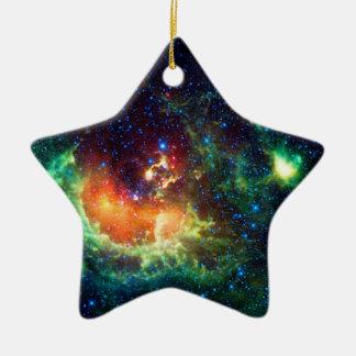 Ornement Étoile En Céramique Nébuleuse de têtard dans la constellation d'Auriga