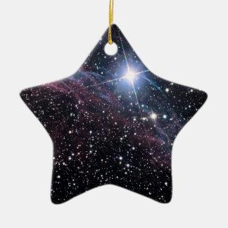 Ornement Étoile En Céramique Nébuleuse de voile de la NASA ESA